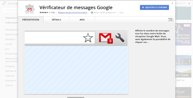 Google modifie son Store et redessine sa page d'accueil des onglets - Détails d'une application