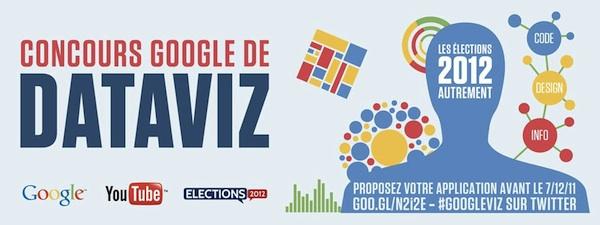 Google organise un concours pour les élections 2012 ! Venez créer votre application