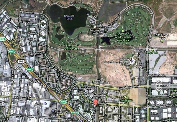 Google verse 100 millions de dollars pour des bureaux à Mountain View - The Landmark