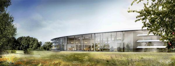 Google verse 100 millions de dollars pour des bureaux à Mountain View - Futur campus d'Apple