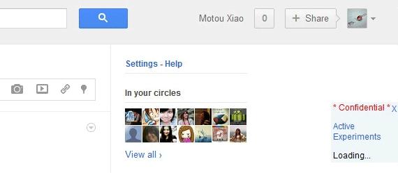 Le déploiement de la nouvelle interface de Google commence... - Boutons de partage, outils, notifications