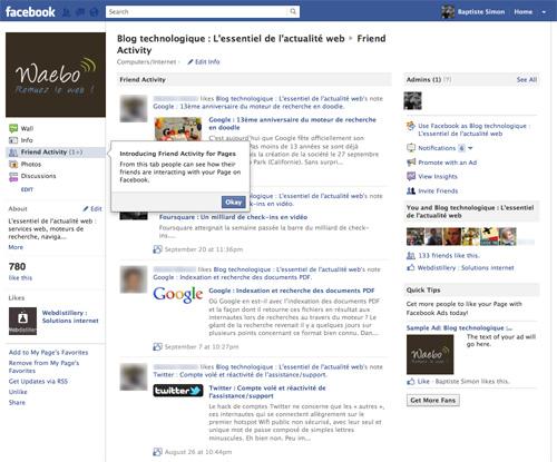 Les acteurs du Web en ont parlé [#11] - Facebook