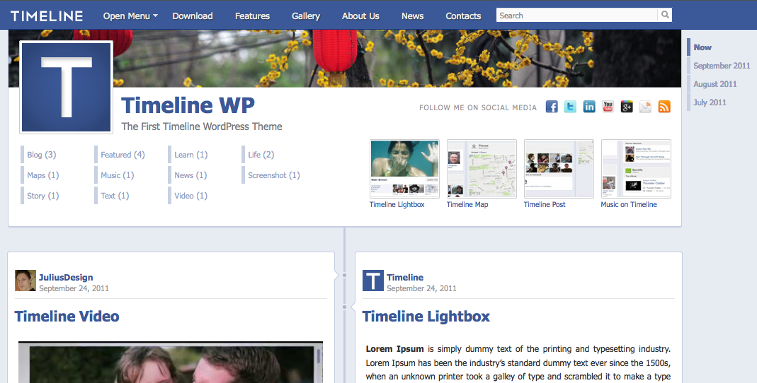 Les acteurs du Web en ont parlé [#11] - WordPress Timeline