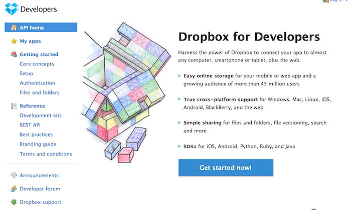 Les acteurs du Web en ont parlé [#14] - Dropbox API