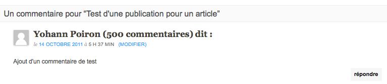 Partager vos publications Google+ sur votre blog WordPress avec ce plugin - Ajout des commentaires dans l'article
