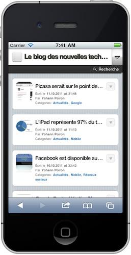 Tester votre design mobile sans avoir besoin d'appareil... - Simulateur iOS