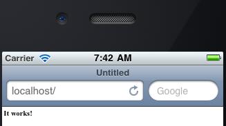 Tester votre design mobile sans avoir besoin d'appareil... - Simulateur iOS test en local