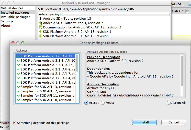 Tester votre design mobile sans avoir besoin d'appareil... - Installation émulateur Android