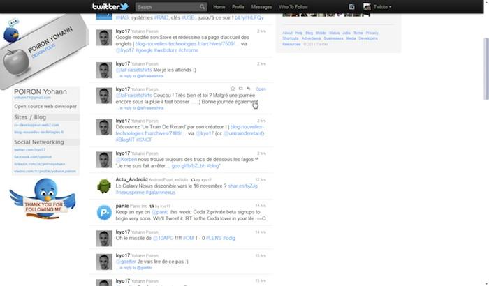 Twitter revisite sa Timeline ! - Visuel pour voir une conversation