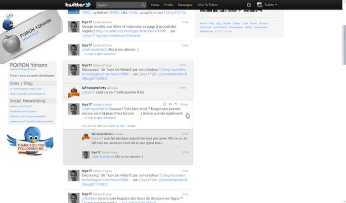 Twitter revisite sa Timeline ! - Détails d'une conversation