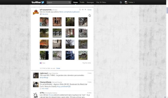 Twitter revisite sa Timeline ! - Tweet avec des images