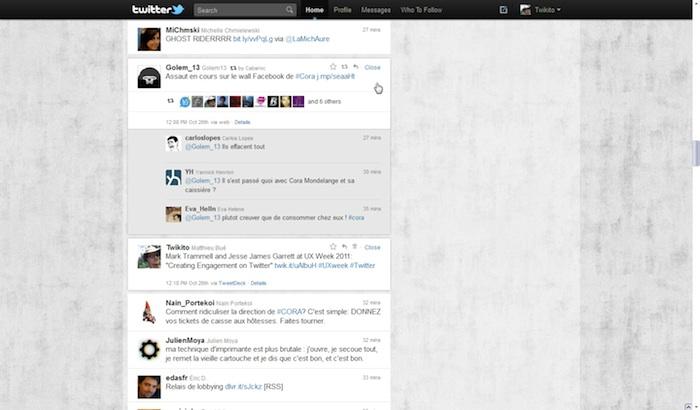 Twitter revisite sa Timeline ! - Personnes ayant retweetés un tweet