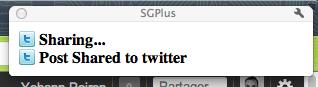 3 extensions Google Chrome indispensables pour partager sur Google+, Facebook et Twitter - SGPlus - Publication sur Twitter