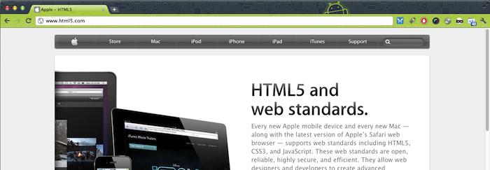 Apple vient d'acquérir (en autre) HTML5.com