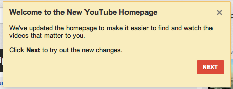 Comment activer la nouvelle version de Youtube ? - Nouvelle version de Youtube après l'avoir activée