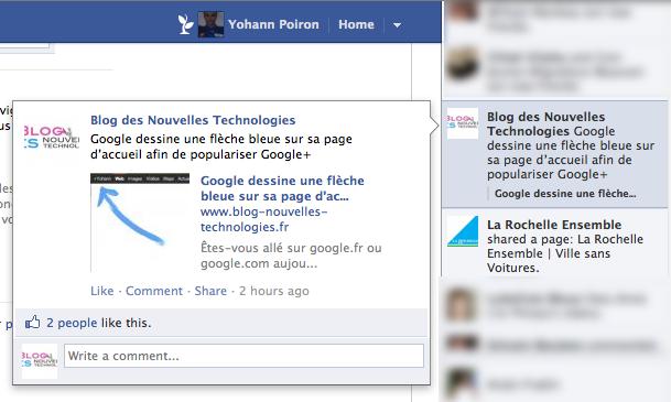 Comment faire pour supprimer le 'Ticker' de Facebook