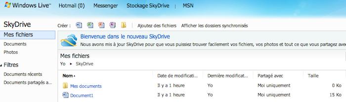 De iCloud à Dropbox : 5 services de cloud comparés - SkyDrive