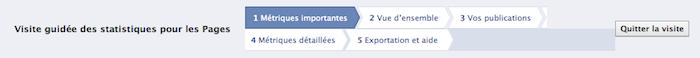 Des nouveautés dans vos pages Facebook ! Des statistiques pour adapter votre contenu à votre audience - Guide virtuel