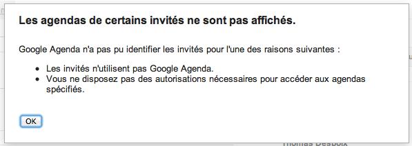 Google Agenda lance une nouvelle fonctionnalité : 'Horaires proposés' - Calendrier des invités non affichés