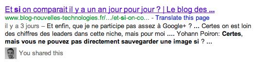 Google est désormais capable de récupérer tous les commentaires des sites Web... un réel danger ? - Commentaires Disqus dans les résultats de recherche