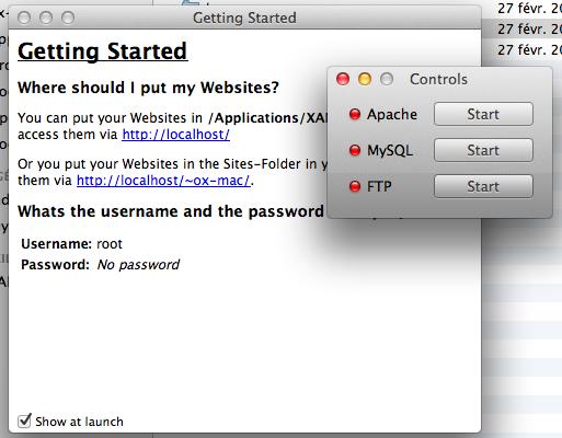 MySQL pour les débutants - Démarrez XAMPP
