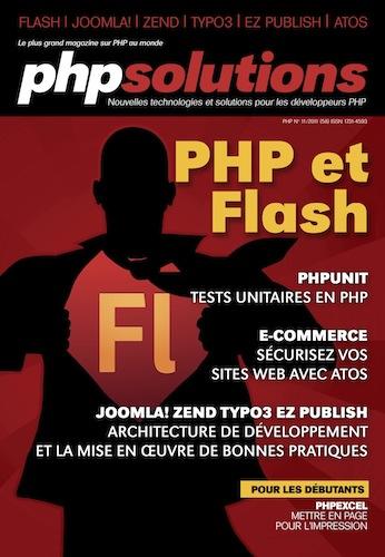 PHP Solutions - Novembre 2011 - Interactions entre Flash et PHP