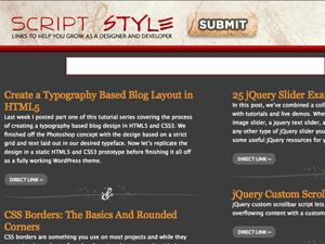 Quelques blogs à suivre régulièrement... - Script & Style