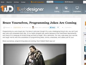 Quelques blogs à suivre régulièrement... - 1stwebdesigner