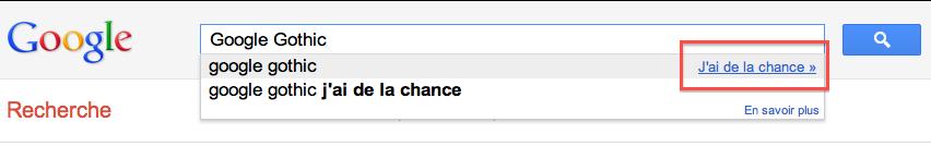 Retrouvez tous les Easter Eggs de Google - Clic 'J'ai de la chance'