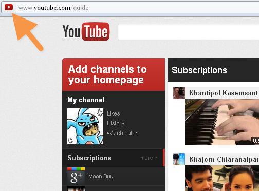 Youtube va lui aussi avoir sa refonte (Google+, abonnements, ...) ! - Nouveau favicon Youtube