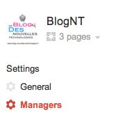 Comment ajouter des administrateurs sur une page Google+ - Managers