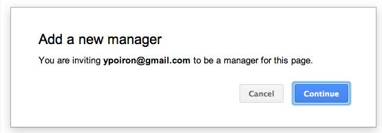 Comment ajouter des administrateurs sur une page Google+ - Ajout des personnes