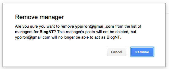 Comment ajouter des administrateurs sur une page Google+ - Suppression d'un administrateur
