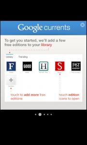 Comment bénéficier de Google Currents sur votre Android - Tutoriel 2 : Ajout du contenu dans votre librairie