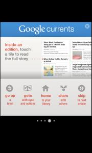 Comment bénéficier de Google Currents sur votre Android - Tutoriel 4 : Lire un article en cliquant sur le titre