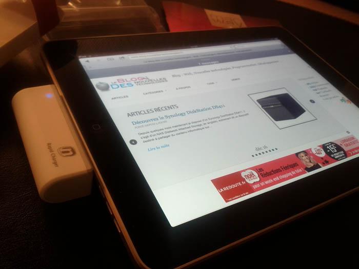 Concours Noël #2 : Des gadgets pour votre Mac et votre iPhone/iPad - Novodio Rapid Charger blanc