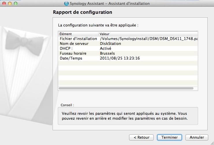 Découvrez le Synology DiskStation DS411 - Rapport de configuration