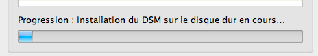 Découvrez le Synology DiskStation DS411 - Installation du DSM sur le disque dur