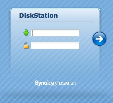 Découvrez le Synology DiskStation DS411 - Connexion au Manager 3.1