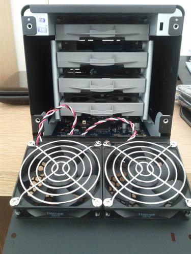 Découvrez le Synology DiskStation DS411 - Baies pour les disques