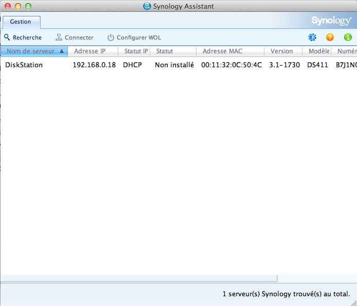Découvrez le Synology DiskStation DS411 - Synology Assistant