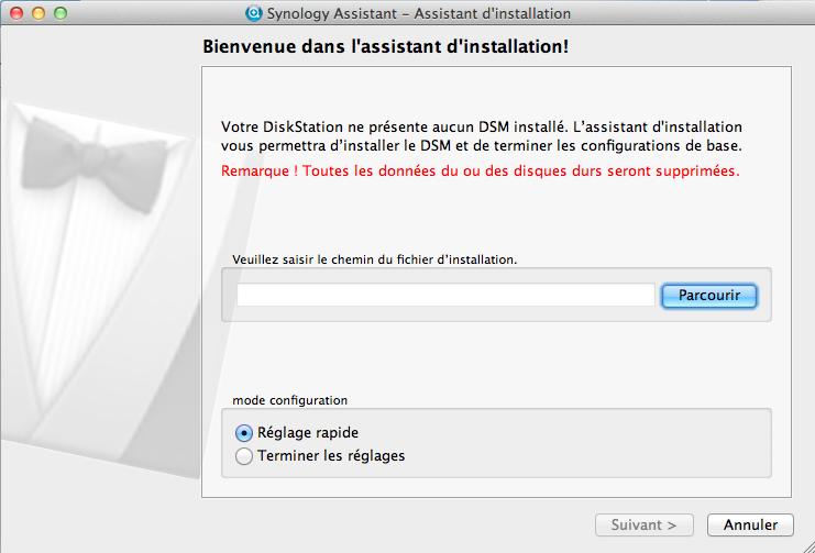 Découvrez le Synology DiskStation DS411 - Assistant d'installation