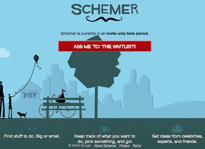 Google lance 'Schemer', son service de localisation