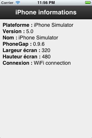Intégrer Sencha Touch à PhoneGap - Application Sencha Touch & PhoneGap