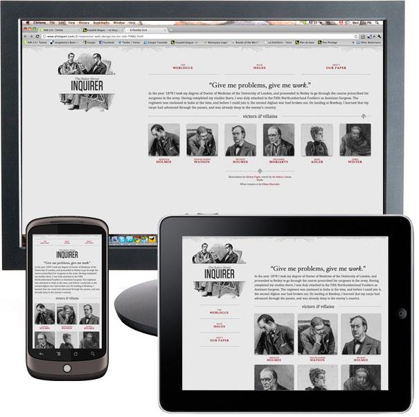 Le 'Responsive Web Design' vu par Facebook - Convergences des conceptions