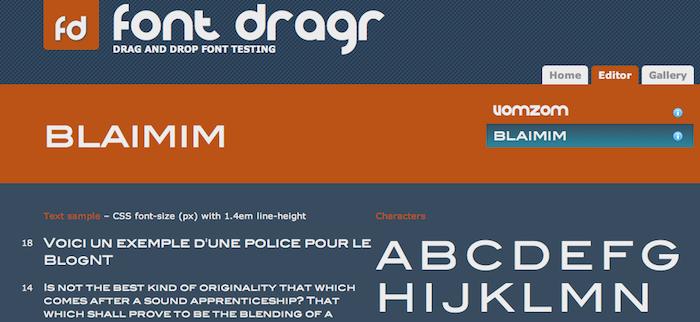 Les 10 meilleures ressources HTML5 en ligne pour les graphistes - Tester votre police