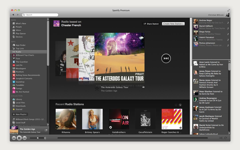 LeWeb'11 : Spotify l'annonce qu'il ne fallait pas manquer - Spotify LeWeb