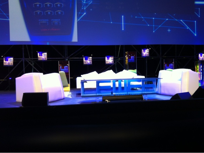 LeWeb'11 : Top départ de l'événement