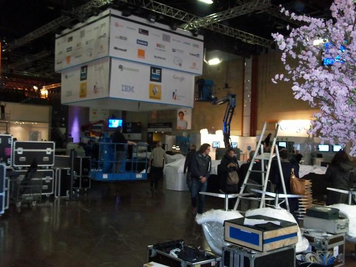 LeWeb'11 : Visite de l'événement LeWeb à J-1 ! - Arrivée aux docks