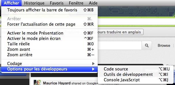 Obtenir la nouvelle barre de navigation Google dès maintenant - Console Web sous Chrome